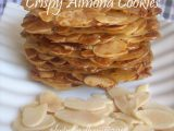 Almond Crispy Cheese Cookies