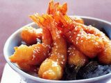 Fried Pineapple With Sasames Caramel